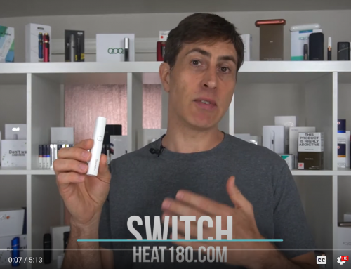 Switch heat not burn vaping device review by Heat180