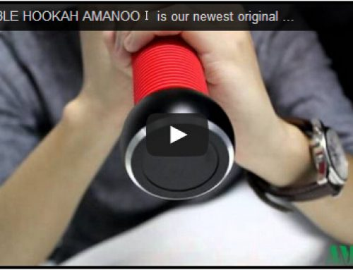 PORTABLE HOOKAH AMANOOⅠVideo